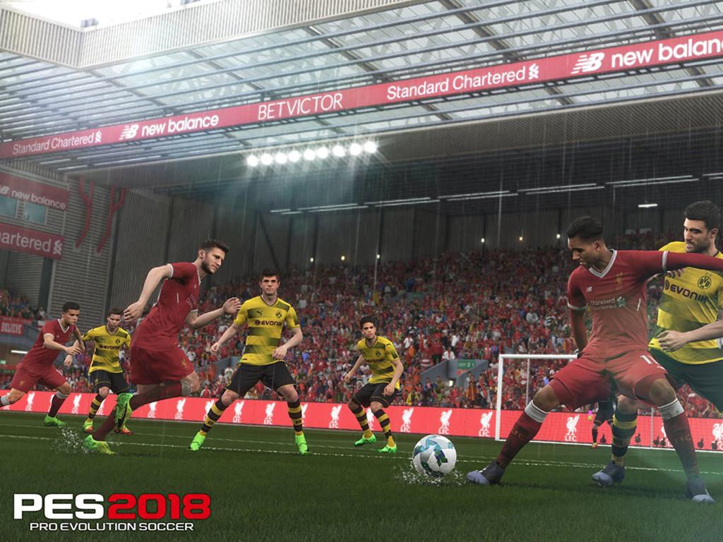Games Wallpaper: PES 2018