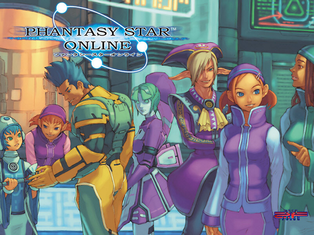 Games Wallpaper: Phantasy Star Online