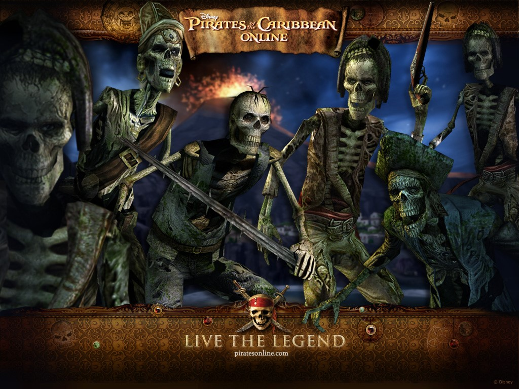 Games Wallpaper: Pirates of the Caribbean Online