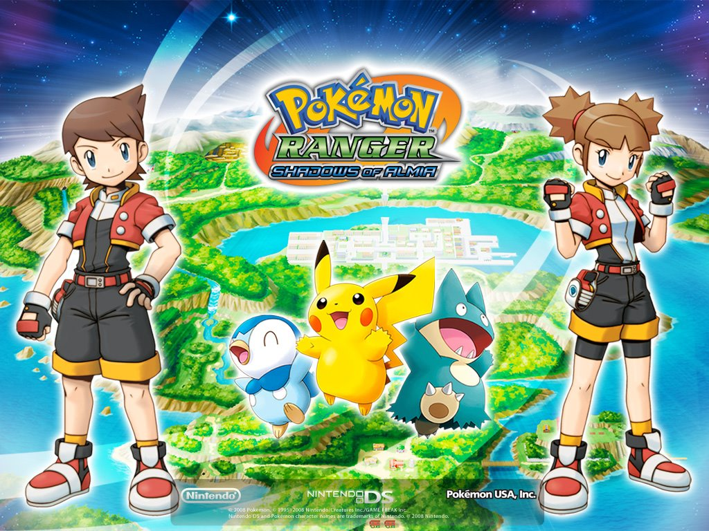 Games Wallpaper: Pokemon Ranger