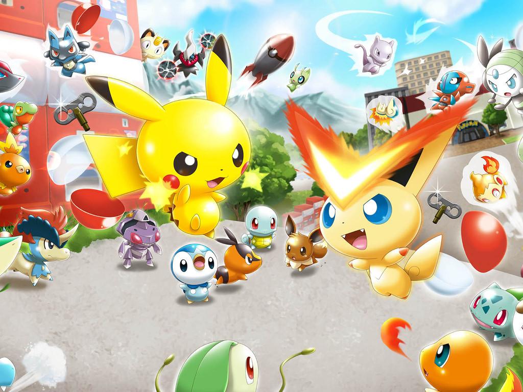 Games Wallpaper: Pokémon Rumble