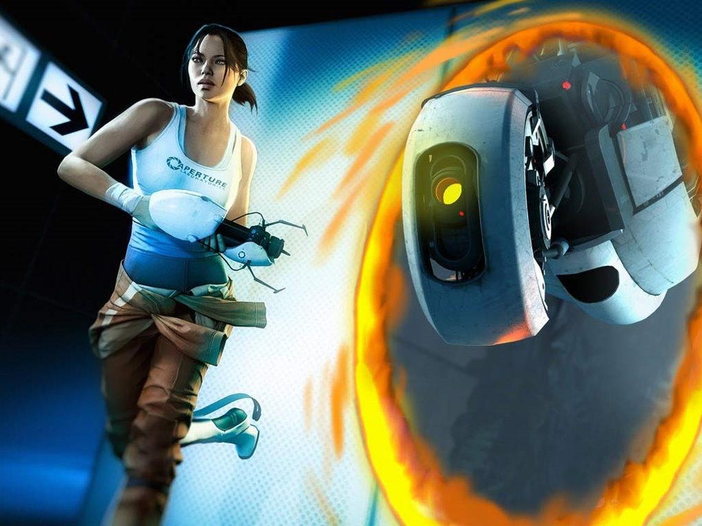 Games Wallpaper: Portal 2 - Chell