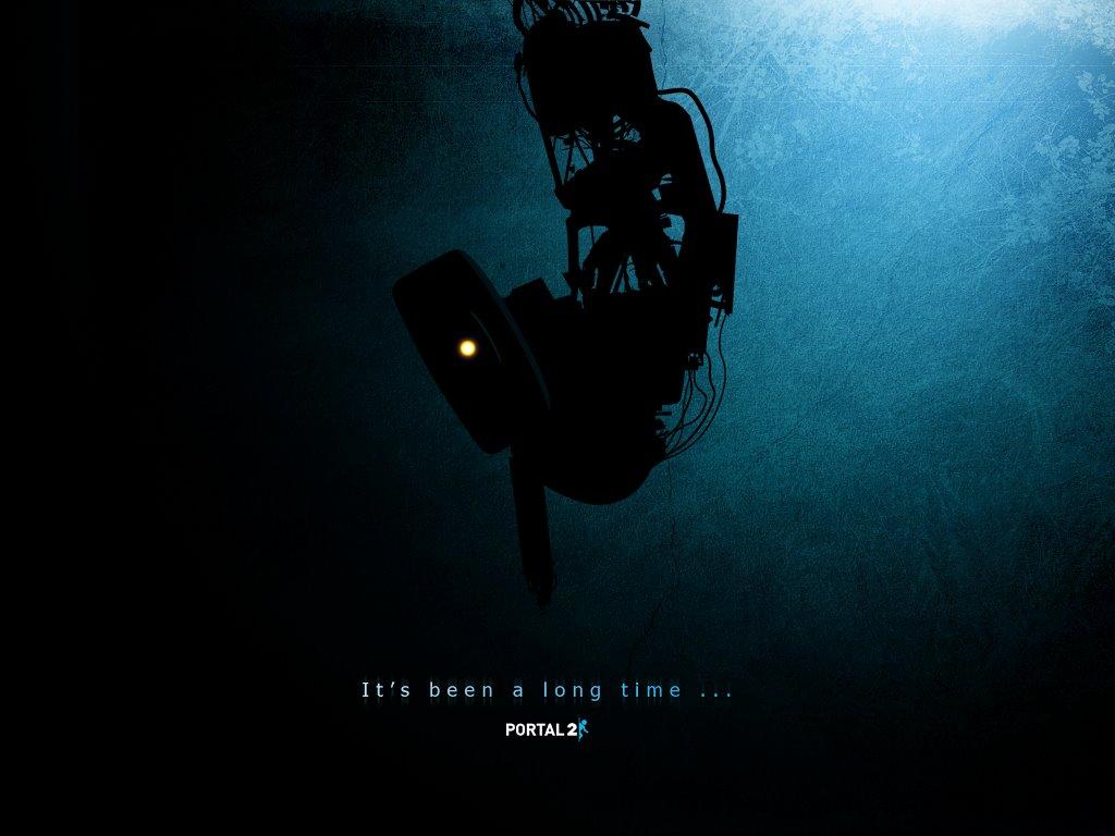 Games Wallpaper: Portal 2 - GLaDOS