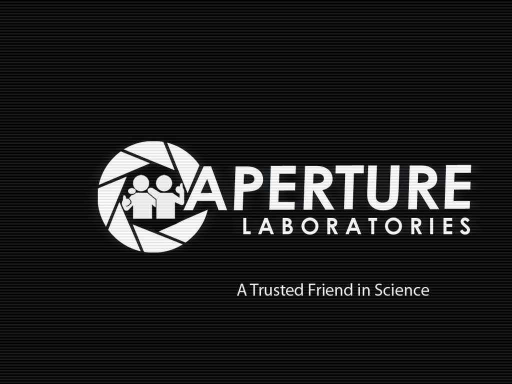 Games Wallpaper: Portal - Aperture Laboratories