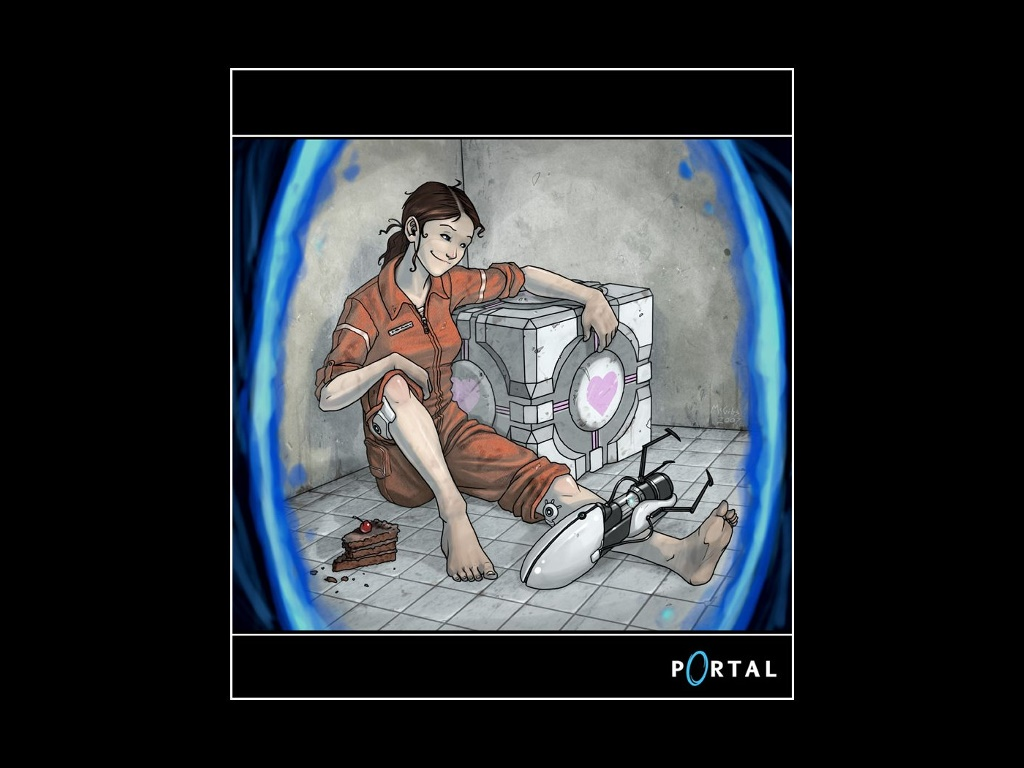 Games Wallpaper: Portal