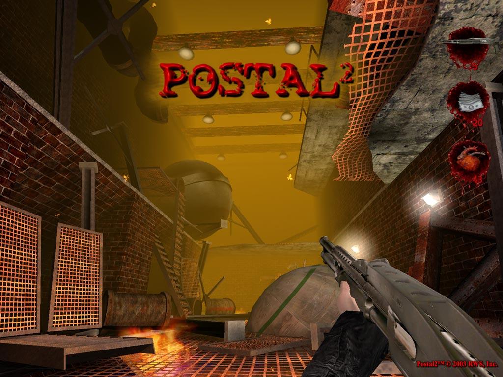 Games Wallpaper: Postal 2 - Factory