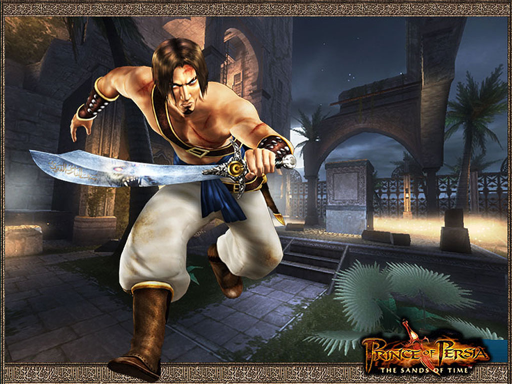 Games Wallpaper: Prince of Persia - The Sands of Time