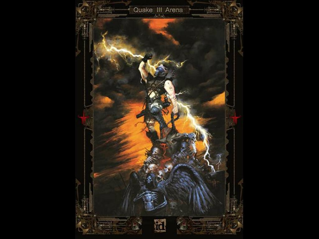 Games Wallpaper: Quake 3 Arena - Carnage