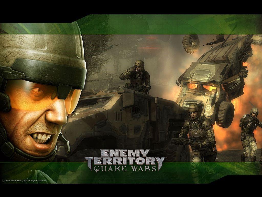 Games Wallpaper: Quake Wars - Enemy Territory