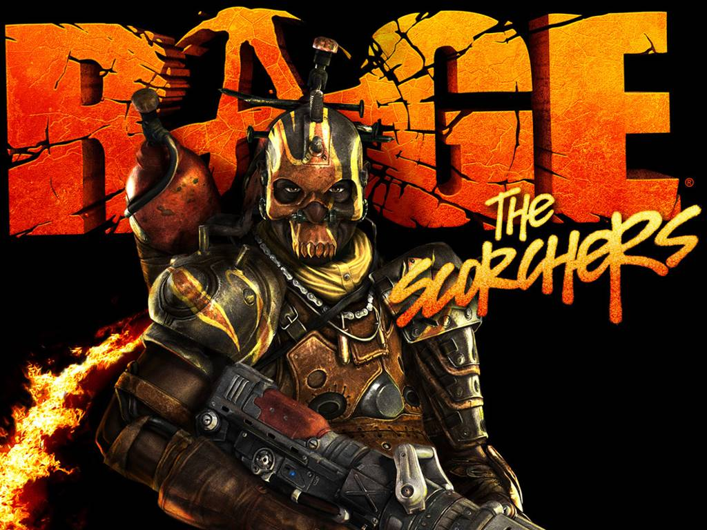 Games Wallpaper: RAGE - The Scorchers