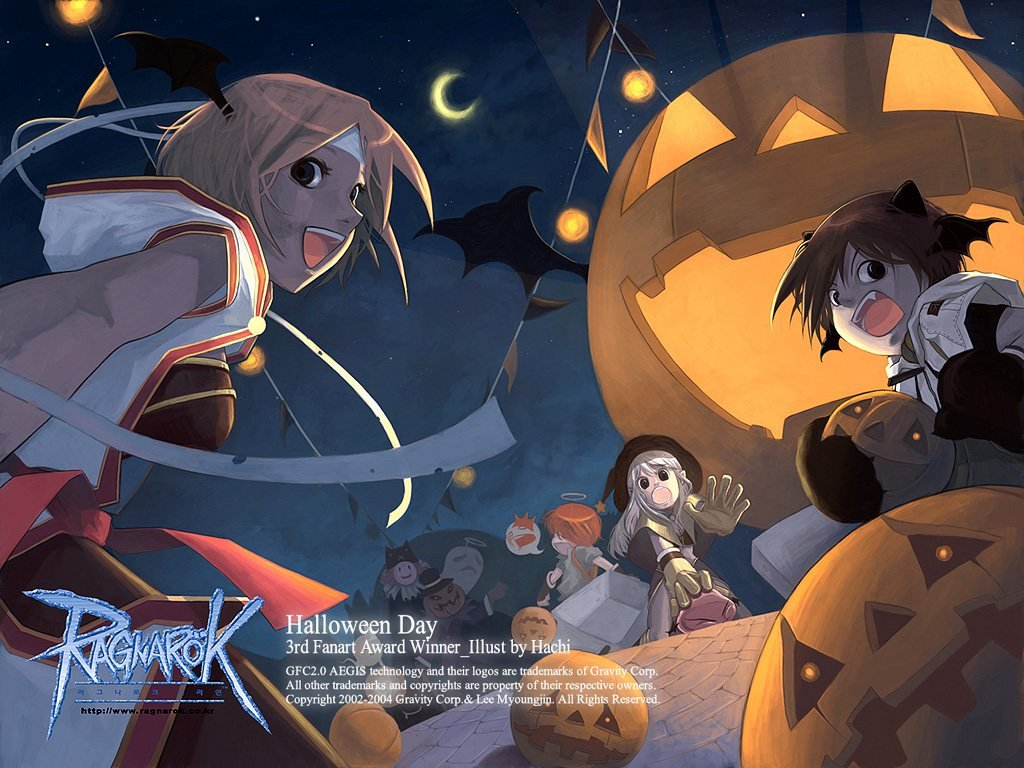 Games Wallpaper: Ragnarok - Halloween