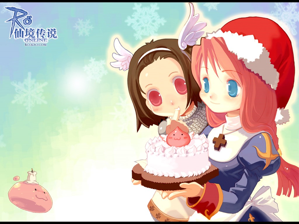 Games Wallpaper: Ragnarok Online - Christmas
