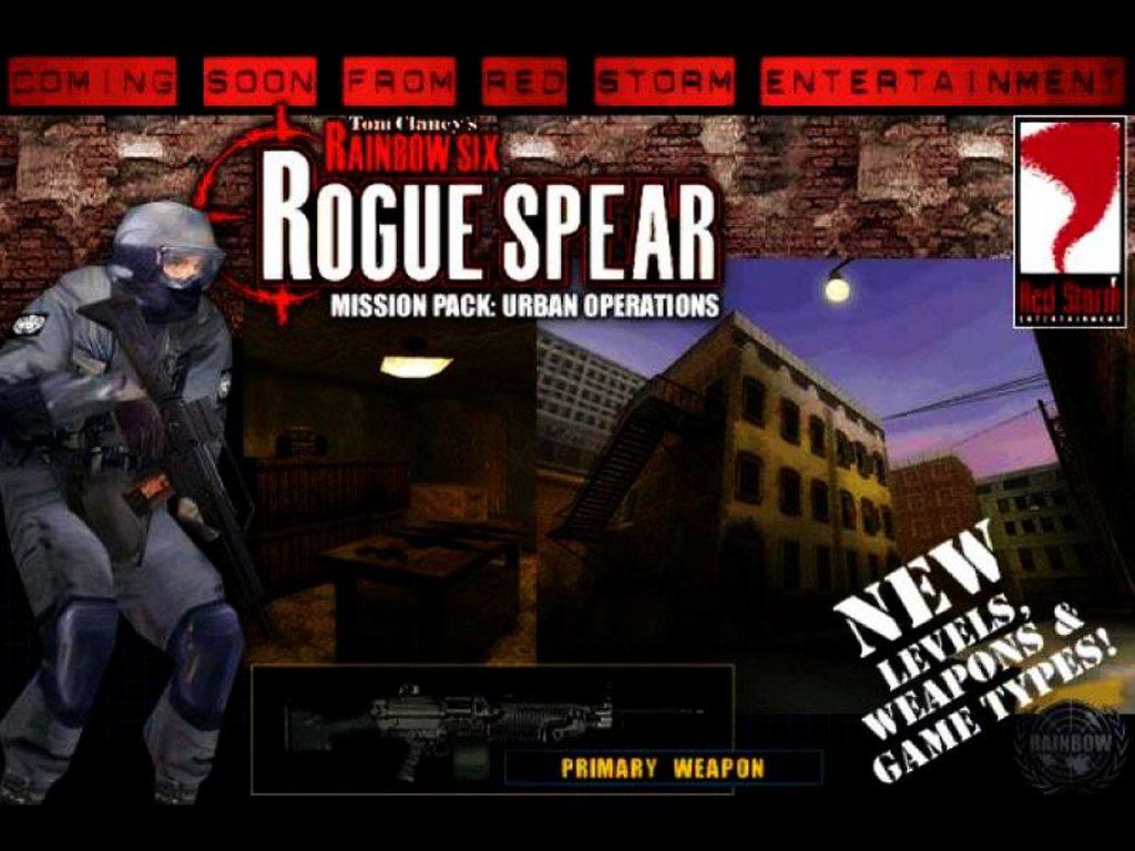 Games Wallpaper: Rainbow Six - Urban Operations