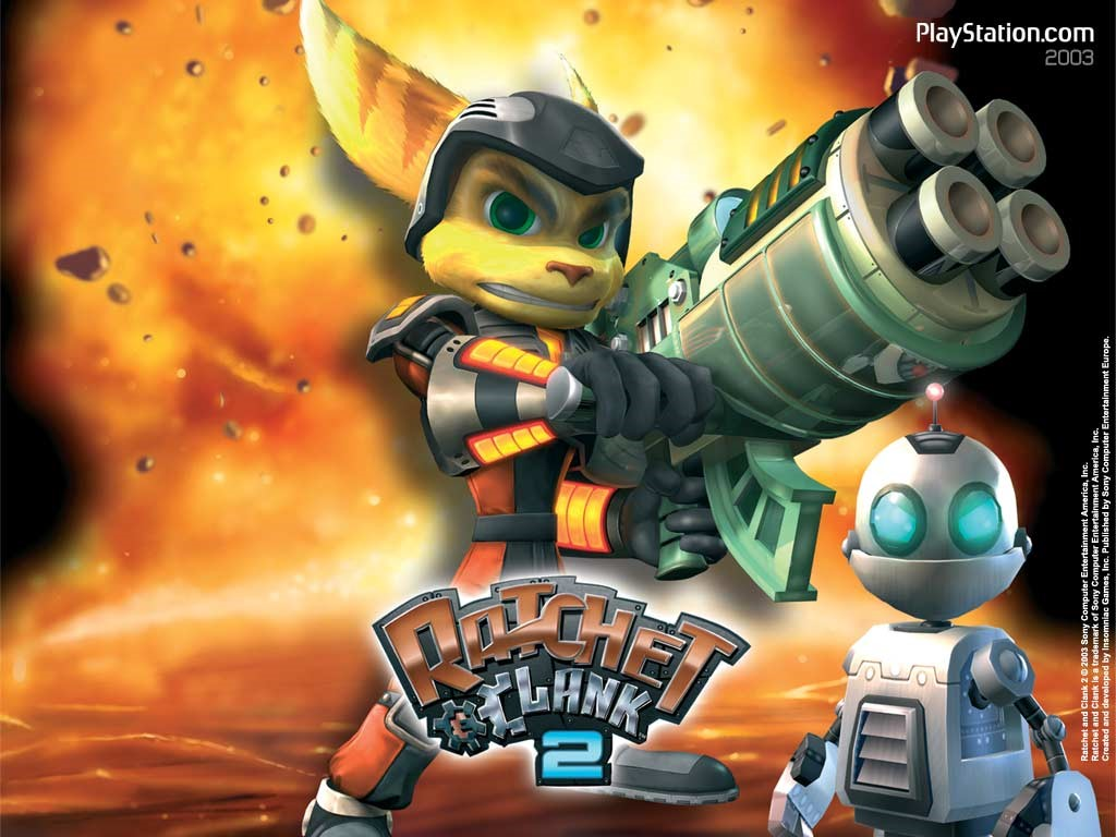 Games Wallpaper: Ratchet and Clank 2