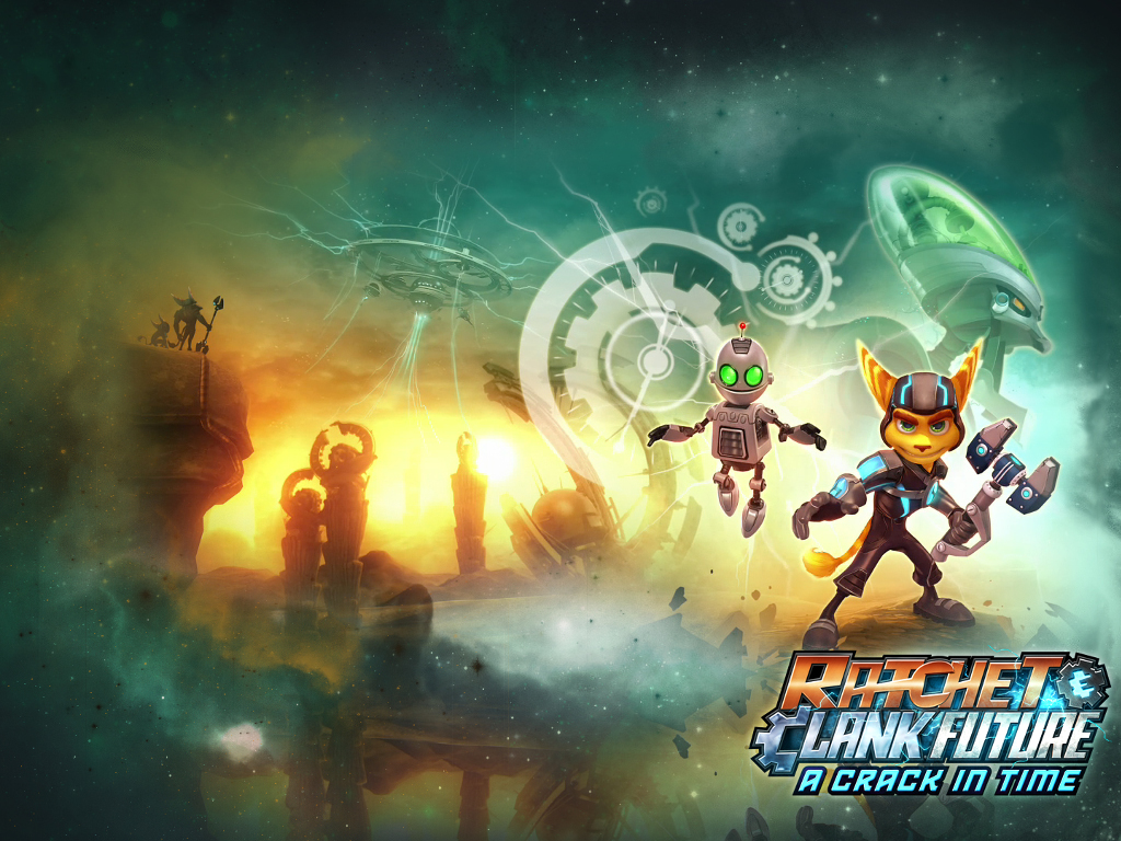 Games Wallpaper: Ratchet and Clank Future - A Crack in Time