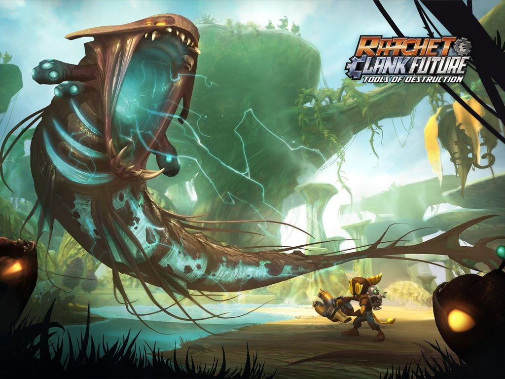 Games Wallpaper: Ratchet and Clank Future - Tools of Destruction