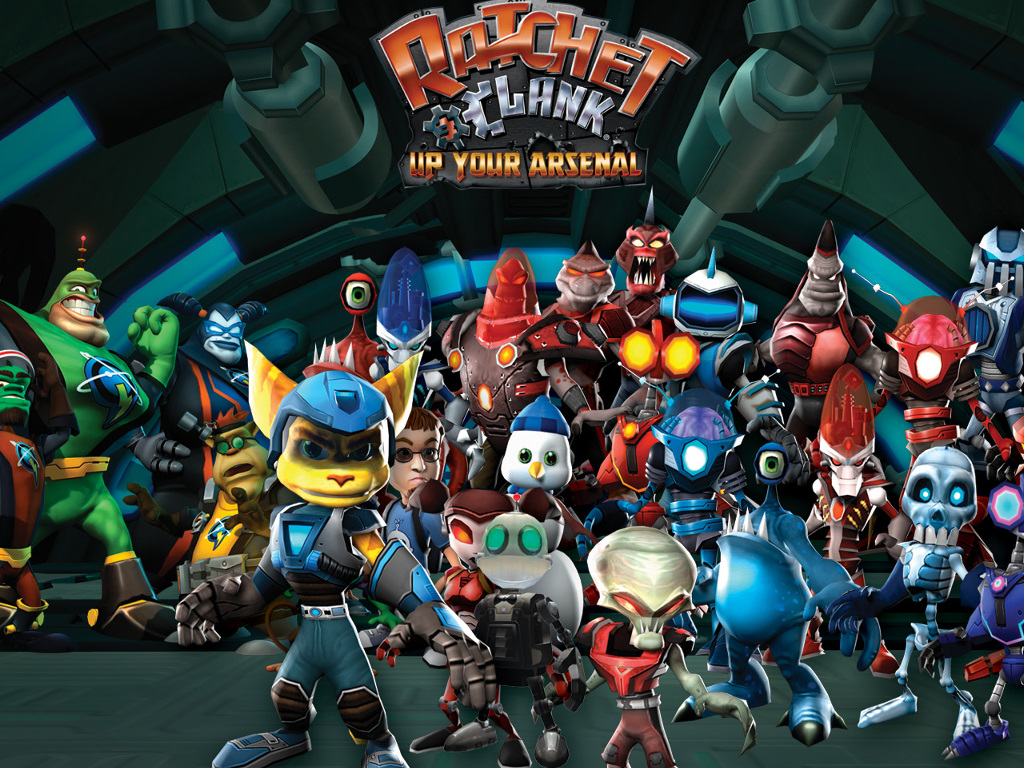 Games Wallpaper: Ratchet and Clank - Up Your Arsenal