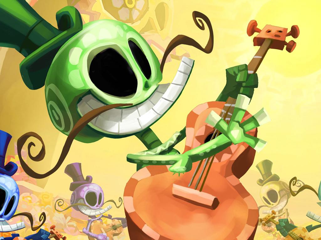 Games Wallpaper: Rayman Legends
