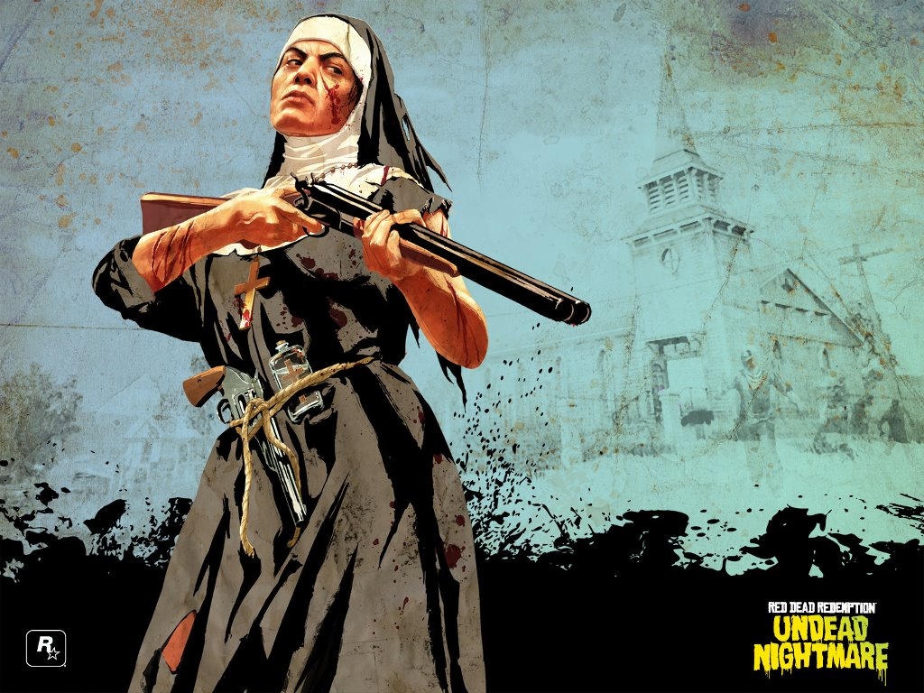 Games Wallpaper: Red Dead Redemption - Undead Nightmare