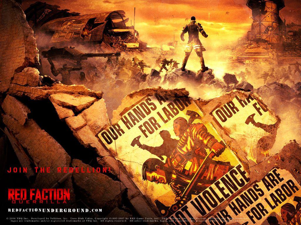 Games Wallpaper: Red Faction Guerrilla