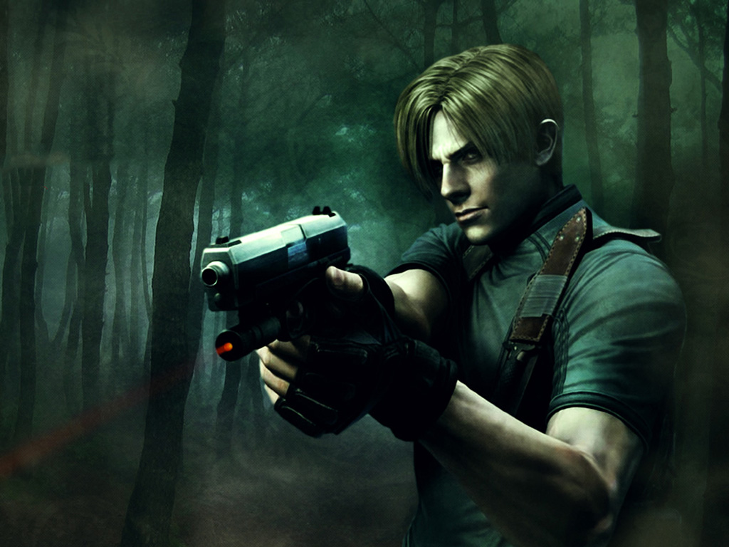 Games Wallpaper: Resident Evil 4