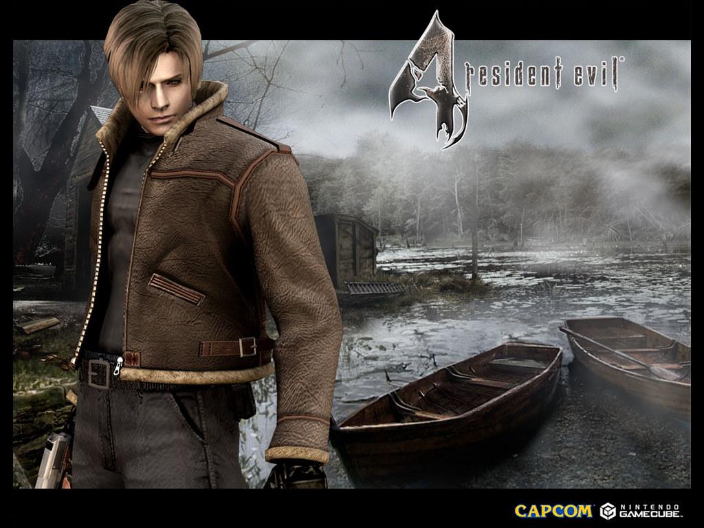 Games Wallpaper: Resident Evil 4 - Leon