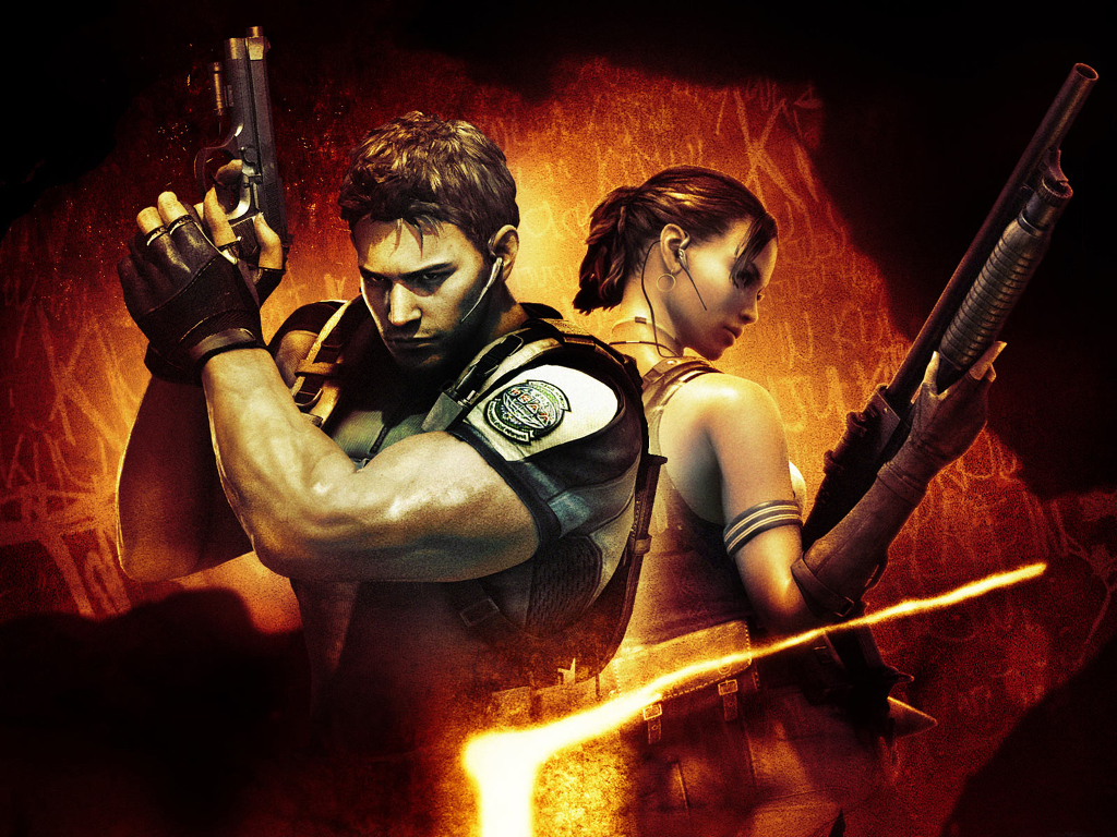 Games Wallpaper: Resident Evil 5