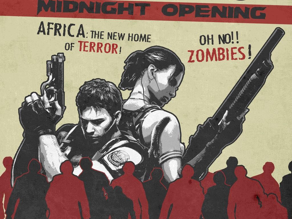Games Wallpaper: Resident Evil 5