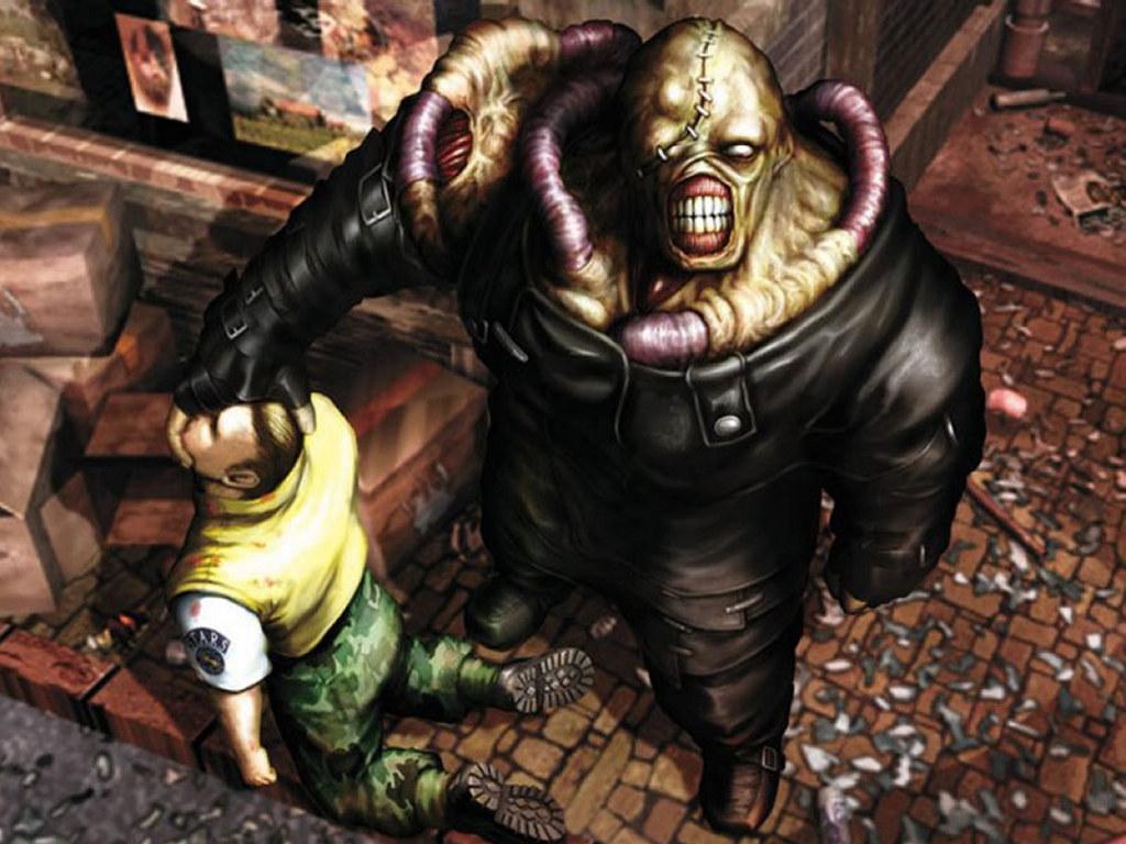 Games Wallpaper: Resident Evil - Nemesis