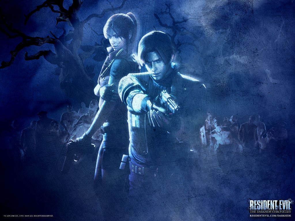 Games Wallpaper: Resident Evil - The Darkside Chronicles