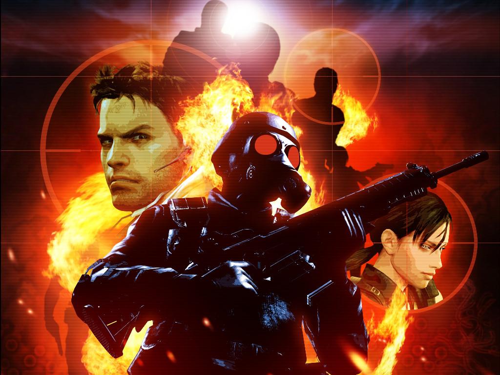 Games Wallpaper: Resident Evil - The Mercenaries 3D