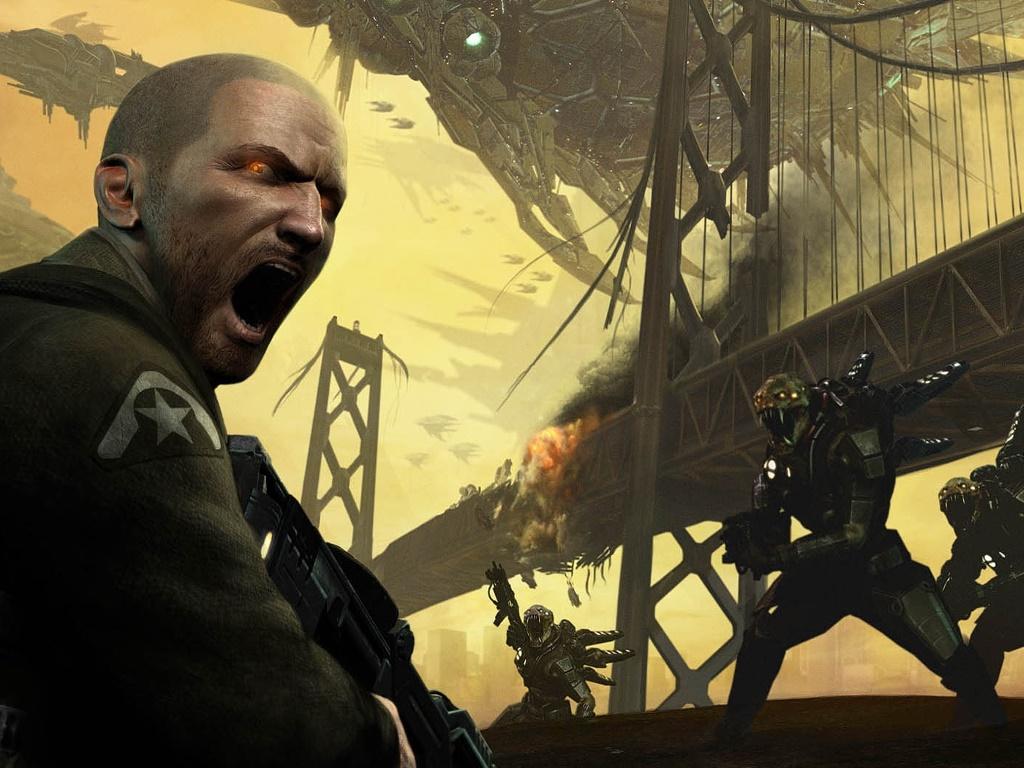 Games Wallpaper: Resistance 2