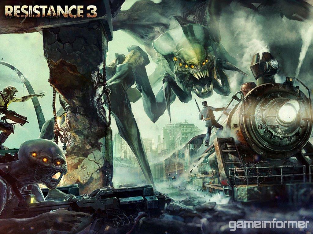 Games Wallpaper: Resistance 3