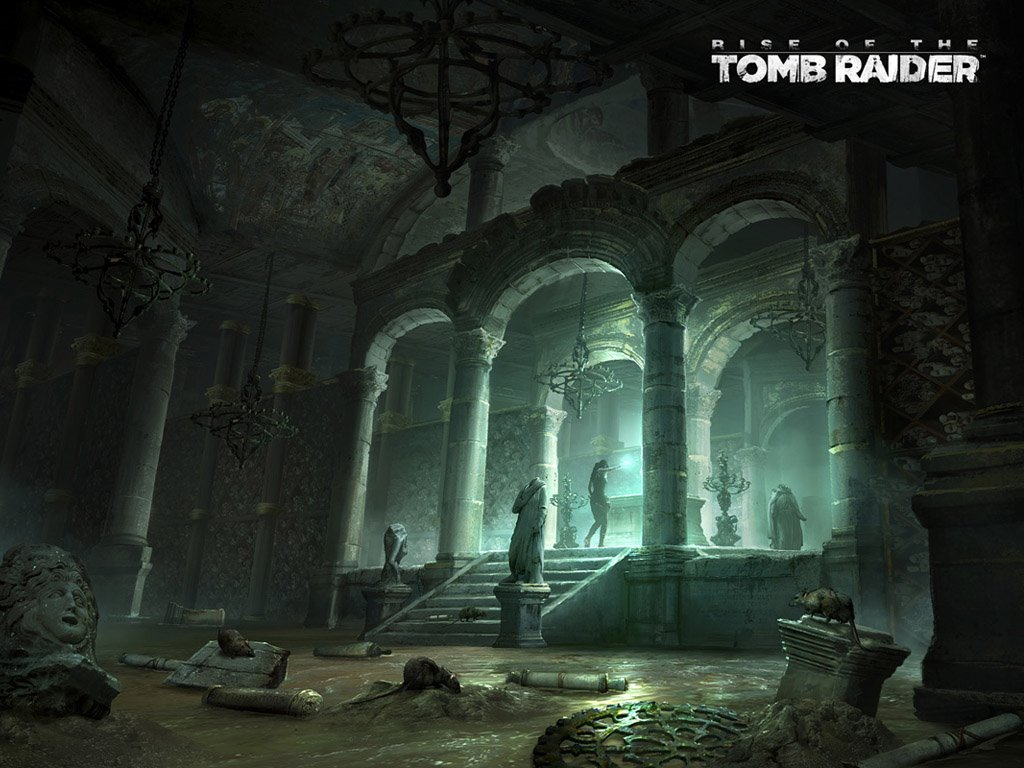 Games Wallpaper: Rise of the Tomb Raider