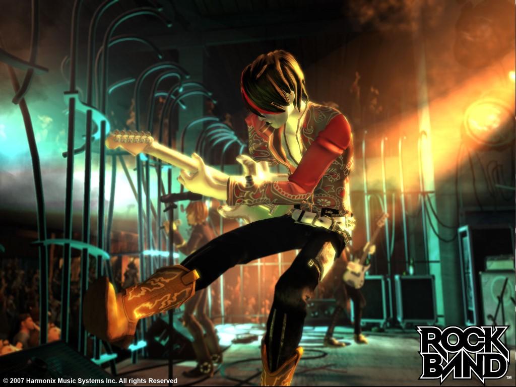 Games Wallpaper: Rock Band
