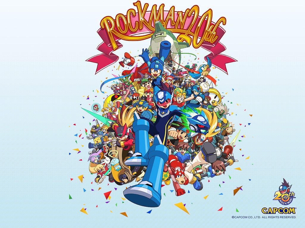 Games Wallpaper: Rockman