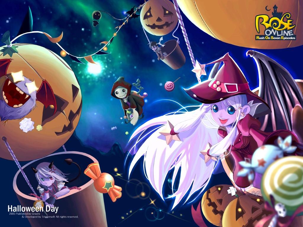 Games Wallpaper: Rose Online - Halloween