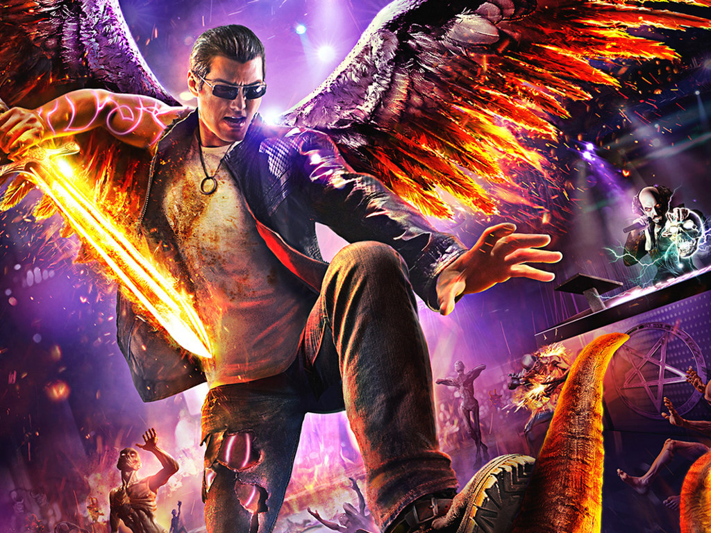 Games Wallpaper: Saints Row - Gat Out of Hell