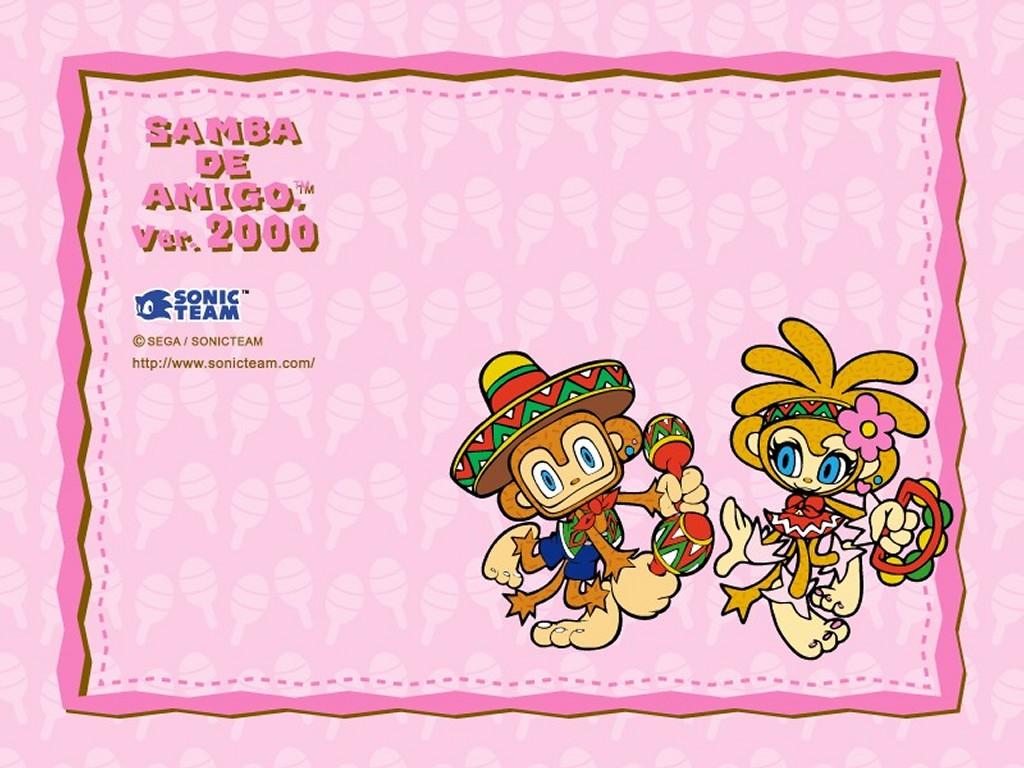 Games Wallpaper: Samba de Amigo