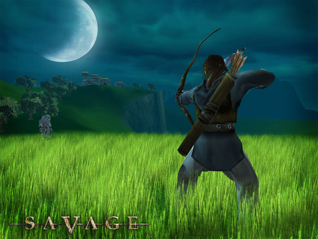 Games Wallpaper: Savage