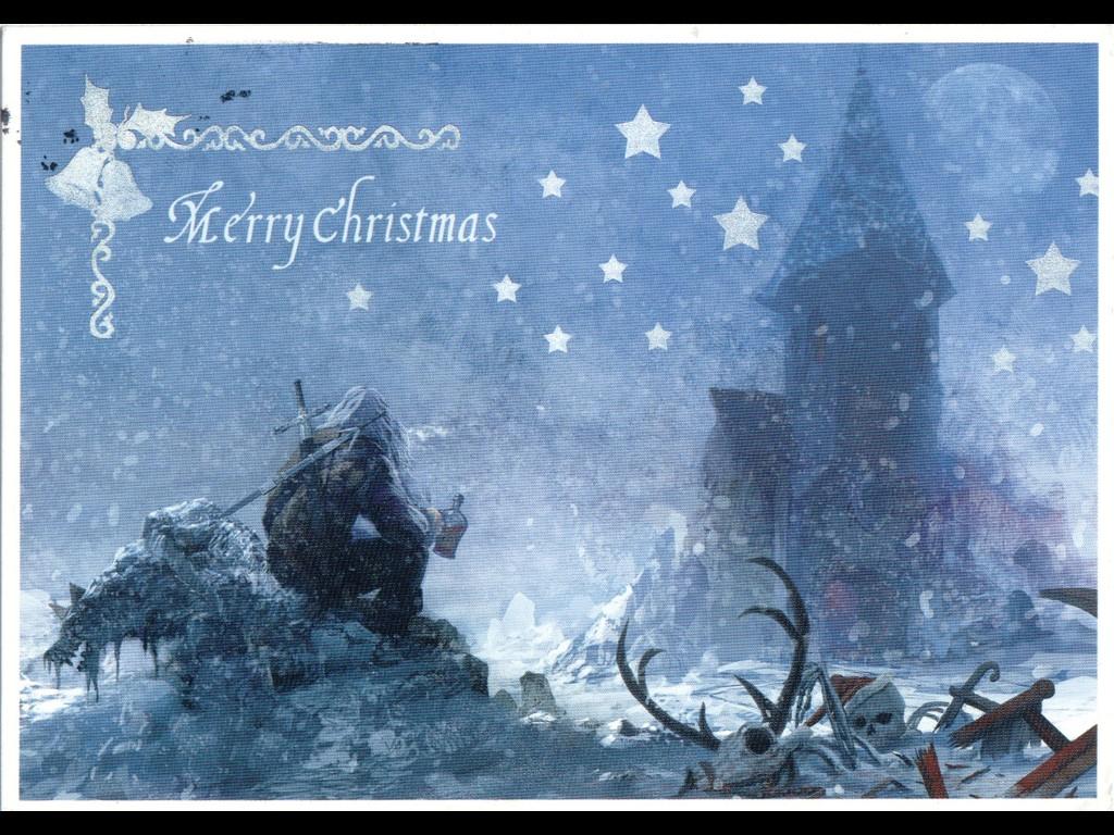 Games Wallpaper: Savage - Christmas Postcard