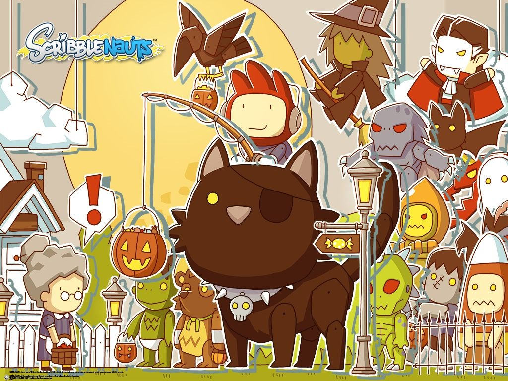 Games Wallpaper: Scribblenauts - Halloween