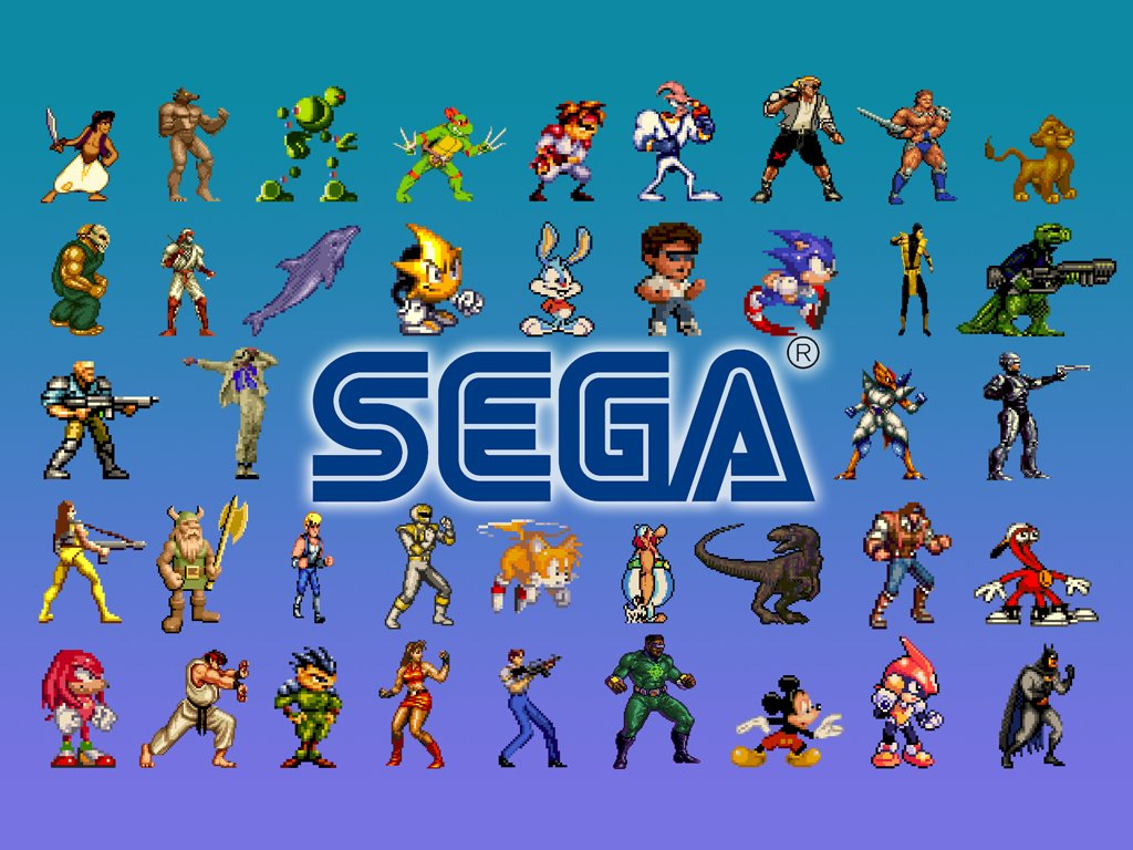Games Wallpaper: Sega Genesis