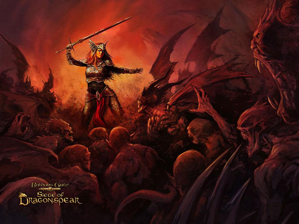 Games Wallpaper: Baldur's Gate - Siege of Dragonspear