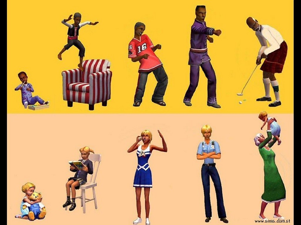 Games Wallpaper: The Sims 2
