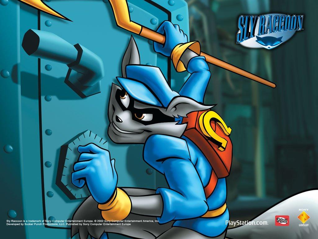 Games Wallpaper: Sly Raccoon