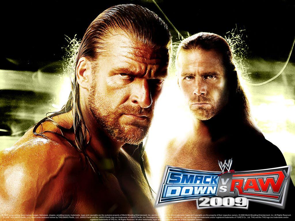 Games Wallpaper: Smackdown vs Raw 2009