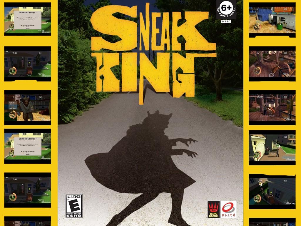 Games Wallpaper: Sneak King