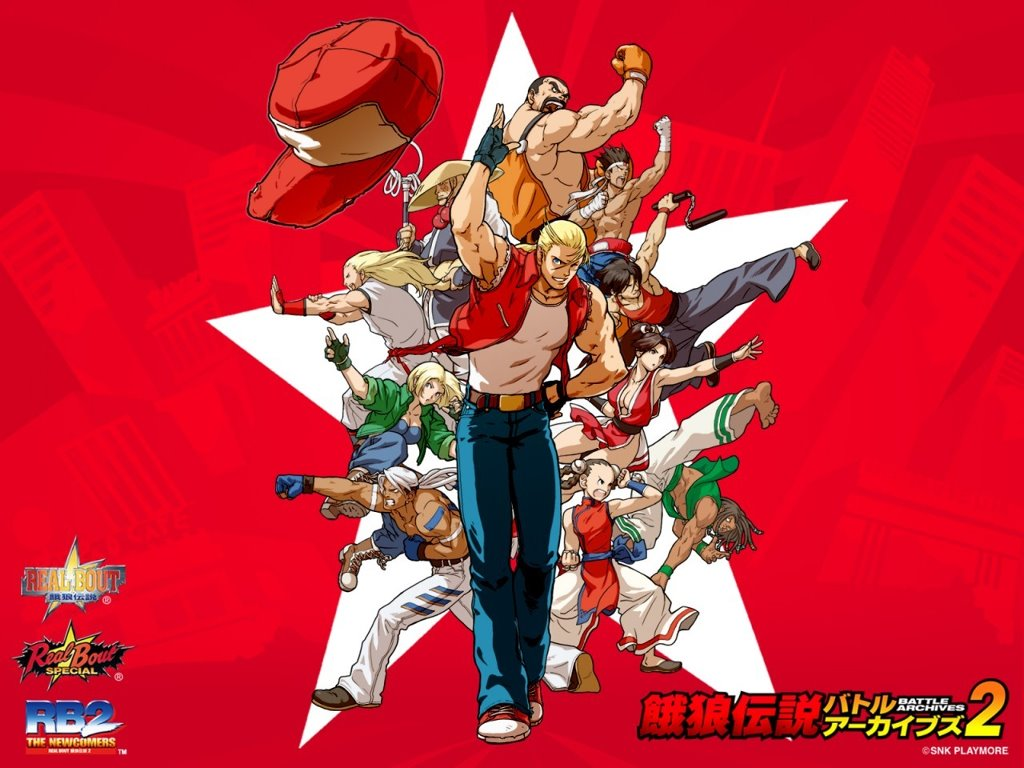 Games Wallpaper: SNK - Fatal Fury Battle Archives Volume 2