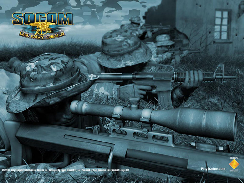Games Wallpaper: Socom - Online